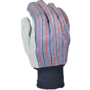 Leather Palm Gloves, Cowhide, 40 gram Thinsulate® Liner, Knit Wrist, X-Large