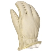 Leather Driver's Gloves, Pigskin, Shirpa Pile Insulated Liner, Keystone Thumb (5182)
