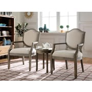 BestMasterFurniture 3 Piece Living Room Arm Chair Set