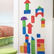 Wallies Wooden Blocks Interactive Wall Decal