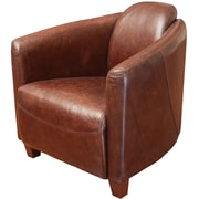 Home Loft Concepts McPherson Leather Club Chair