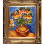 Tori Home 'Crown Imperial Fritillaries in a Copper Vase' by Vincent Van Gogh Framed Painting Print