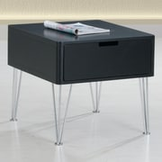 Best Quality Furniture End Table; Black