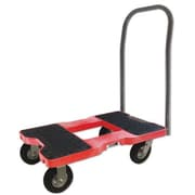 Snap-Loc 40.5'' x 20.5'' x 32'' 1500 lb Air Ride Push Cart Dolly; Red