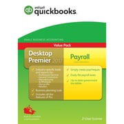 Intuit QuickBooks Desktop Premier Plus Payroll 2017 Accounting Software, English
