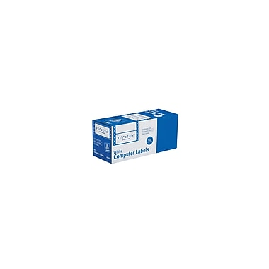 Avery® 4060 White Pin-Fed Computer Labels, 3-1/2