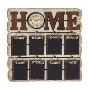 A Nation  Wood Memo Clock, 26 x 26 in. (UMET200)