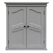 Elegant Home Fashions Versailles 22'' W x 24'' H Wall Mounted Cabinet; White