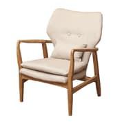 Home Loft Concepts Isabella Accent Arm Chair; Beige