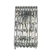 StarrySkyTradingInc. 4-Light Clear Crystal Cascade Wall Sconce