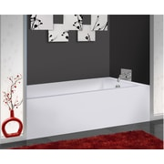 Fine Fixtures 66'' x 32'' Soaking Bathtub; Left