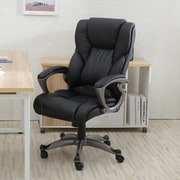 OneBigOutlet 25.5'' High-Back Office Chair; Black