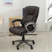 OneBigOutlet 25.5'' High-Back Office Chair; Brown