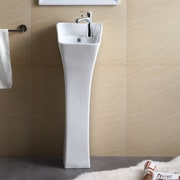 Fine Fixtures Pedestal Series 12.19'' Bathroom Sink
