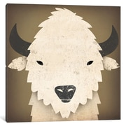iCanvas Buffalo I by Ryan Fowler Graphic Art on Wrapped Canvas; 26'' H x 26'' W x 0.75'' D