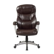 Belleze Deluxe High-Back Executive Chair; Mocha