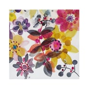 Intelligent Design 'Sweet Florals II' by Karin Johannesson 2 Piece Painting Print Set