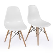 Belleze Side Chair (Set of 2); White