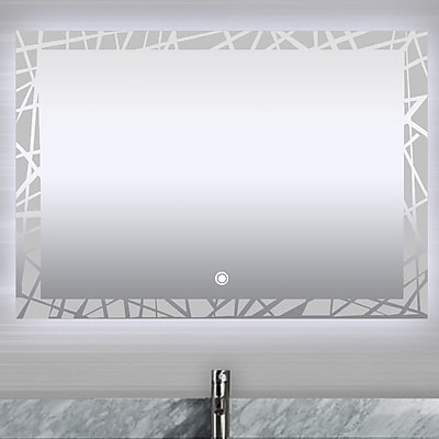 MTDVanities Vadara Touch/Sensor Activated LED Vanity Mirror