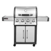 Royal Gourmet Deluxe Mirage 4-Burner Propane Gas Grill w/ Cabinet