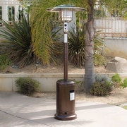 Belleze 48,000 BTU Propane Patio Heater; Hammered Bronze