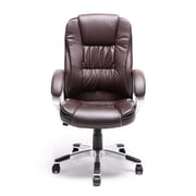 Belleze High-Back Executive Chair; Brown