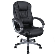 OneBigOutlet 27'' High-Back Executive Chair; Black