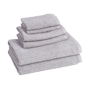 American Dawn Inc. New Cambridge Quick Dry 6 Piece Towel Set; Cloud Burst