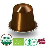FUERTE®, Nespresso® - Compatible Coffee Capsule, Organic Arabica Coffee, Escura, (20/pack)