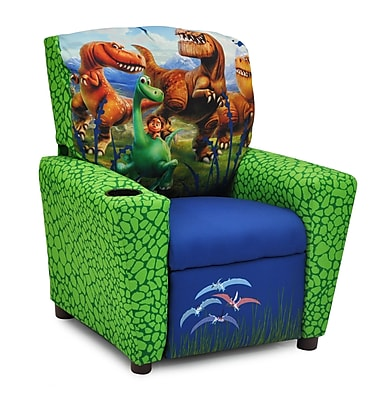 KidzWorld Disney's the Good Dinosaur Kids Recliner w/ Cup Holder WYF078279370506