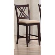 Iconic Furniture 24'' Bar Stool; Mocha