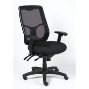 Eurotech Seating Apollo High-Back Mesh Chair with Arms; Center and Forward Tilt