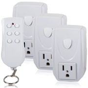 Maxxima Programmable Wireless Outlet Remote Control System (Pack of 3), (MEW-RW3S)