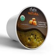 FUERTE®Caramoso™, K-Cup® Compatible Pod, Caramel, USDA Organic Arabica Coffee, 18/PK. (KCC-8162)