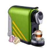 FUERTE®,Nebbia®, Espresso Machine, Compatible with Nespresso® Capsule, Lime (NEM-LM)