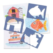 Roylco R5522 Child's First Stencil Set™, 15/Pack