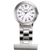 Lorus RG251C Stainless Steel Nurses' Fob Watch with LumiBrite®, 30mm Watch