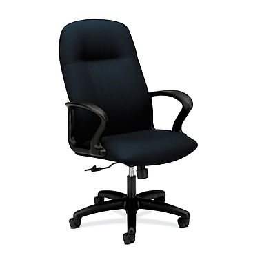 HON Gamut Executive High-Back Desk or Computer Chair, Mariner Polyester Fabric