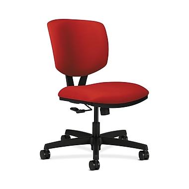 HON® Volt Task Chair, Center-Tilt, Tomato Fabric