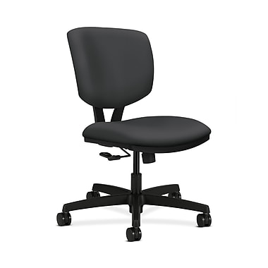 HON® Volt Task Chair, Center-Tilt, Carbon Fabric