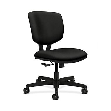 HON® Volt Task Chair, Center-Tilt, Black Fabric