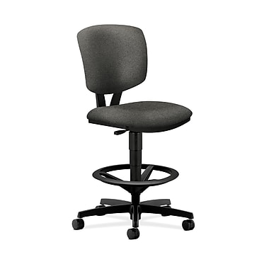 HON Volt Task/Drafting Stool In 100% Olefin, Gray Fabric