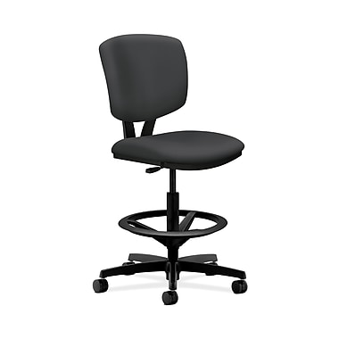 HON® Volt Task Stool, Extended Height, Footring, Carbon Fabric