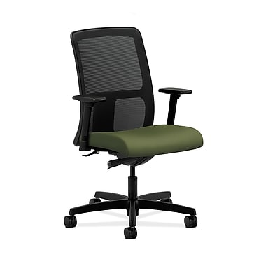 HON® Ignition Low-Back Mesh Task Chair, Synchro-Tilt, Adjustable Arms, Clover Fabric
