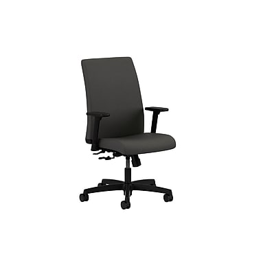 HON Ignition Center-Tilt Low-Back Task Chair, Iron Ore Fabric