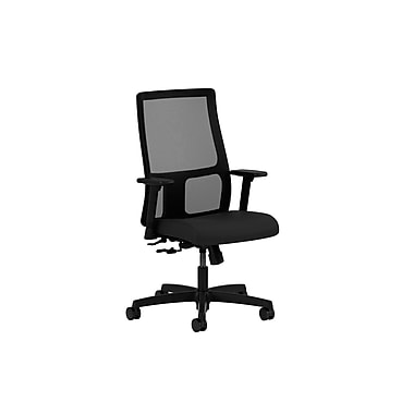 HON Ignition Low-Back Mesh Task Chair, Black Fabric