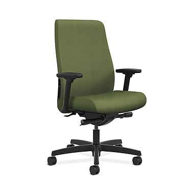 HON® Endorse Mid-Back Task Chair, Built-In Lumbar, Adjustable Arms, Clover Fabric