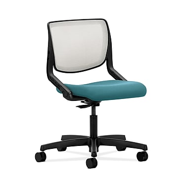 HON® Motivate Task Chair, Fog ilira®-stretch Back, Glacier Fabric