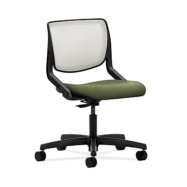HON® Motivate Task Chair, Fog ilira®-stretch Back, Clover Fabric