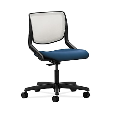 HON® Motivate Task Chair, Fog ilira®-stretch Back, Regatta Fabric